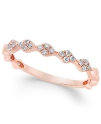 Macy's Diamond Stackable Band 1 8 Ct. T.W. In 14K Gold White Gold Or Rose Gold