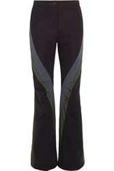 Fendi Wonders Paneled Ski Pants Black