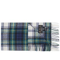 Barbour New Check Tartan Scarf Multi