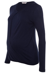 Bellybutton Loreen Long Sleeved Top Peacoat Dark Blue