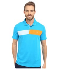 Puma Short Sleeve Cool Touch Polo Atomic Blue Men's Short Sleeve Pullover