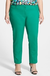 Eloquii 'Kady' Ankle Pants Plus Size No Color