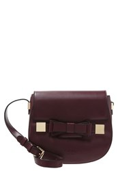 Lydc London Across Body Bag Uni Wine Bordeaux
