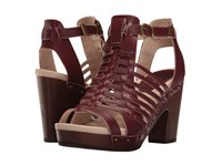 Jambu Valentina Wine High Heels Burgundy