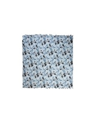 George J. Love Square Scarves Light Grey