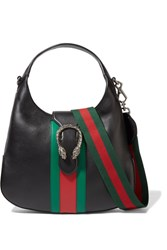 Gucci Dionysus Hobo Leather Shoulder Bag Black
