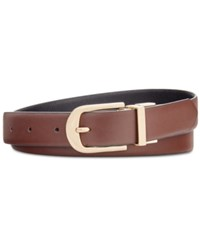 Inc International Concepts Reversible Belt Created For Macy's Brown Black