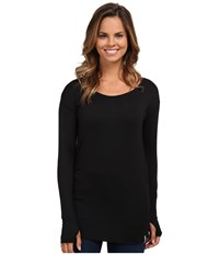 Columbia Lumianation Long Sleeve Shirt Black Women's Long Sleeve Pullover