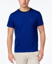 Tommy Hilfiger Men's Big And Tall Marvin Short Sleeve T Shirt Surf The Web