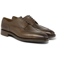 Edward Green Dover Leather Derby Shoes Green
