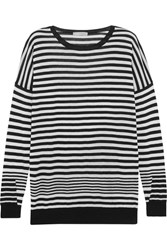 Vince Striped Cotton Black