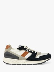 Ralph Lauren Polo Train Chunky Trainers White Newport Navy