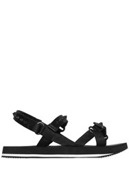 Dsquared Spiked Nylon Webbing Sandals