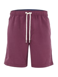 Howick Plain Swim Shorts Aubergine