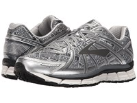 Brooks Adrenaline Gts 17 Gray Black Silver Men's Running Shoes