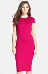 Women's Felicity And Coco Seamed Pencil Dress Cerise