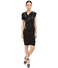 Vivienne Westwood Active Resistance Punk Dress Black Women's Dress