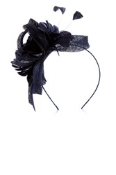 Coast Amelie Flower Fascinator Navy