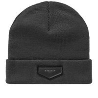 Givenchy Patch Logo Beanie Grey