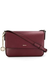 Dkny Medium Bryant Crossbody Bag Red