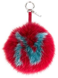Fendi N Bag Charm Red