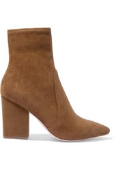 Loeffler Randall Isla Suede Ankle Boots Brown
