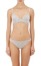 Eres Women's Theater Lace Underwire Bra Grey