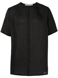 Damir Doma Elongated T Shirt Men Silk Polyamide Xl Black