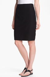 Eileen Fisher Knit Pencil Skirt Regular And Petite Black