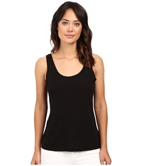 Splendid Modal Cotton Jersey Tank Top Black Women's Sleeveless