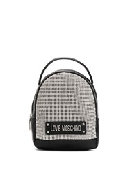 Love Moschino Studded Logo Plaque Backpack 60