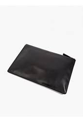 Jil Sander Men's Black Leather Document Wallet