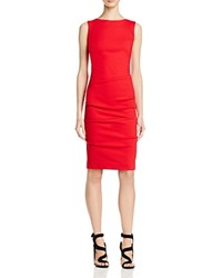 Nicole Miller Lauren Ponte Dress Red