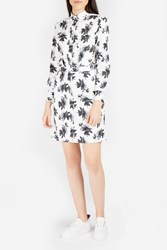 Paul Joe Women S Josette Floral Print Shirtdress Boutique1 White