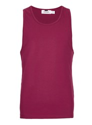 Topman Red Burgundy Ultra Muscle Fit Vest