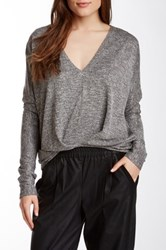 Autograph Addison Pleated Front Blouse Black