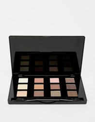 New Look 12 Shade Eyeshadow Palette Light Brown Clear