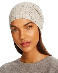Bloomingdale's C By Donegal Cashmere Hat 100 Exclusive Light Gray