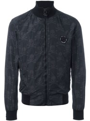 Philipp Plein 'Honey Moon' Bomber Jacket Black