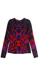 Elie Saab Multi Knit Blouse