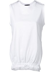 Simone Rocha Side Slit Top White