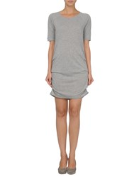 Kelly Hoppen For Earth Couture Dresses Short Dresses Women Light Grey