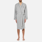 Hugo Boss Men's Kimono Dressing Gown Medium Grey