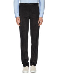 Armani Collezioni Trousers Casual Trousers Men Dark Brown