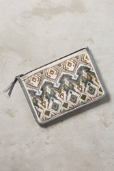 Anthropologie Tahiti Beaded Clutch Assorted