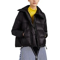 Sacai Down Short Puffer Jacket Black