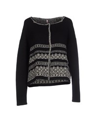 Scee By Twin Set Knitwear Cardigans Women Black