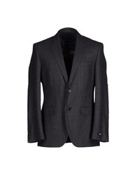 Boss Black Suits And Jackets Blazers Men Steel Grey