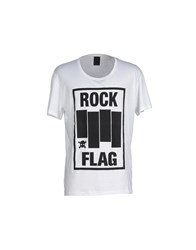 Rock 'N' Roll Topwear T Shirts Men White