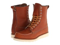 Red Wing Shoes 8 Moc Toe Oro Legacy Men's Boots Tan
